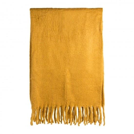Filt Blanket Home Styling Homestyling Gul Yellow Style Stylist