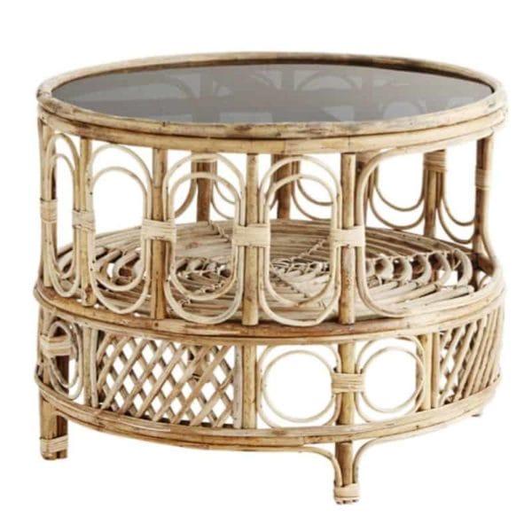 madam-stoltz-coffee-table-bamboo-dark, beleco market