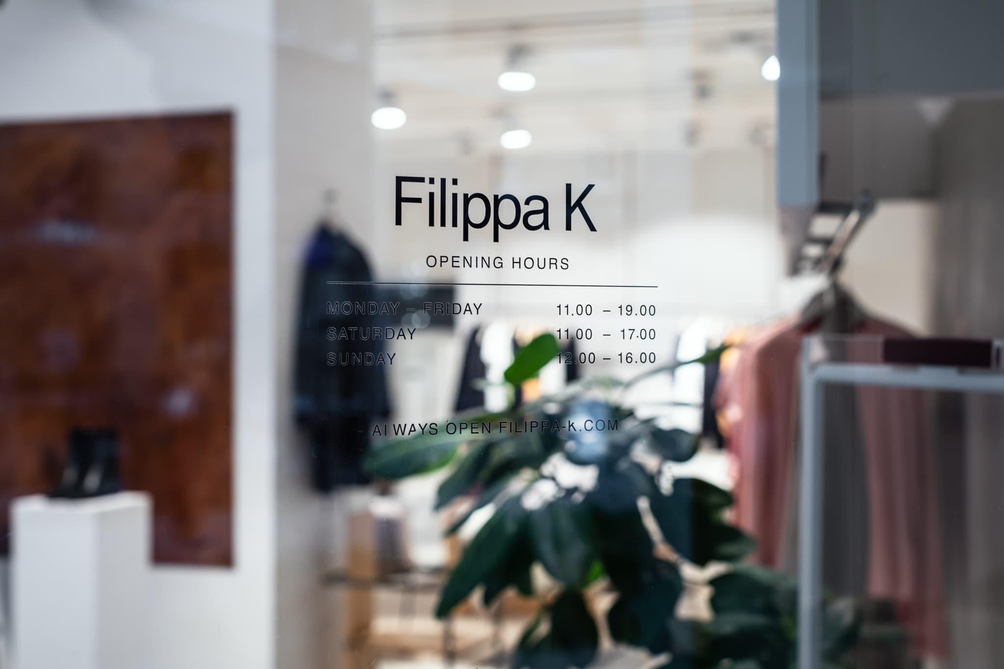 filippa k glas